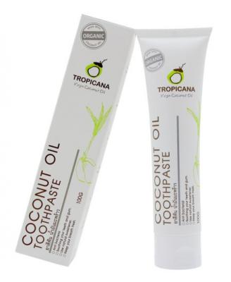 Зубная паста КОКОС Tropicana Coconut toothpaste 20г: фото