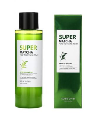 Тоник для сужения пор с чаем матча Some By Mi Super matcha pore tightening toner 150мл: фото