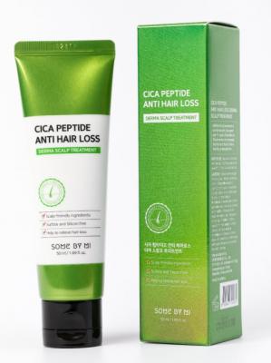 Маска для волос с центеллой и пептидами Some By Mi Cica peptide anti hair loss treatment 50мл: фото