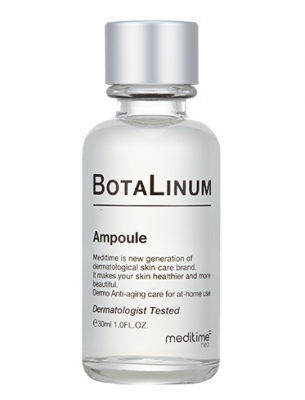 Ампула лифтинг с эффектом ботокса Meditime Botalinum ampoule 30мл: фото