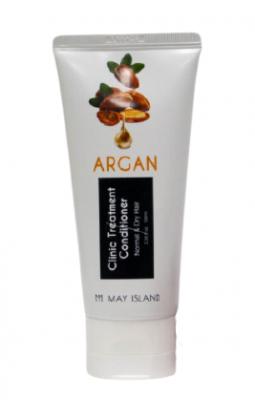 Кондиционер для волос с аргановым маслом May Island Argan clinic treatment conditioner 100мл: фото