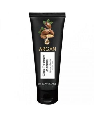 Шампунь для волос с аргановым маслом May Island Argan clinic treatment shampoo 100мл: фото