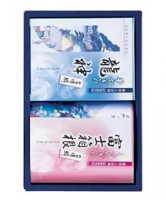 Соль для ванны горячий источник аромат свежести MAX Tsuzuri bath sallt 2*25г: фото