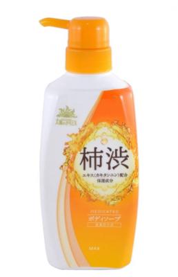 Мыло для тела жидкое с экстрактом хурмы MAX Taiyounosachi ex body soap 500мл: фото