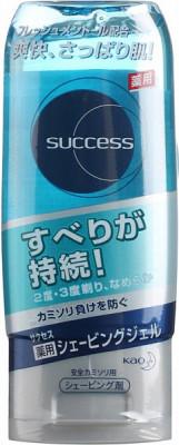 Гель для бритья с освежающим и лечебным эффектом, с ментолом KAO Success shaving gel 180г: фото