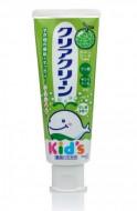 Паста зубная с мягкими микрогранулами для детей со вкусом дыни KAO Clear clean melon 70г: фото