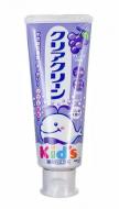 Зубная паста для детей с мягкими микрогранулами со вкусом винограда KAO Сlear clean grape 70г: фото