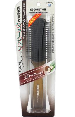 Щетка для волос с кокосовым маслом Ikemoto Coconut blow styling brush: фото