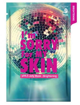 Маска для лица тканевая осветляющая I'm Sorry For My Skin pH5.5 jelly mask-brightening 33мл: фото